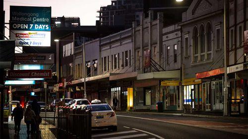 Wollongong has seen a surge in coronavirus cases.
