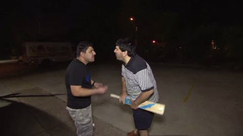 A property dispute between two brothers gets violent. (A Current Affair)