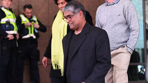 Alleged victim, Mill Park father Roger Singaravelu. Picture: AAP