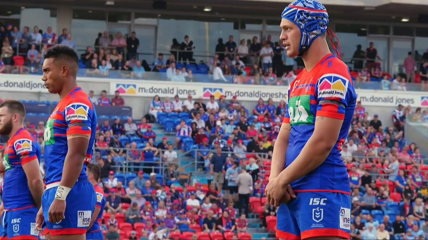 Knights and Sharks observe minute's silence for Christchurch
