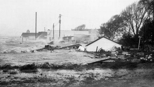 The last similar storm to hit North Carolina, Hurricane Hazel, struck in 1954.