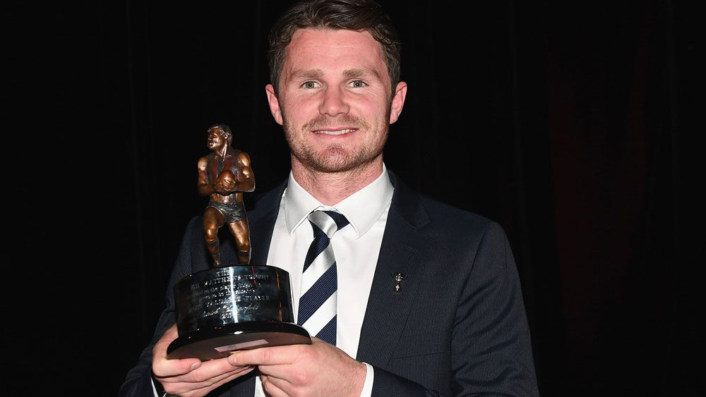 Patrick Dangerfield has dominated the AFL Players Association most valuable player award. (Getty)