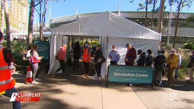 The race to get the vaccine as Victoria's lockdown begins