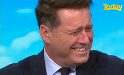 Stefanovic could barely get the sentence out as he was laughing so hard.
