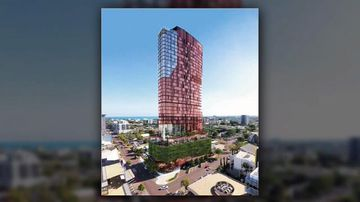 Plans to build $115m five-star hotel in Darwin lodged