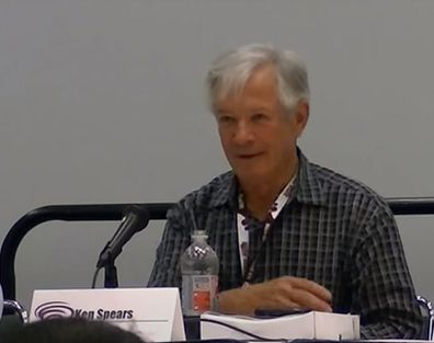 Ken Spears appears at WonderCon in 2012.
