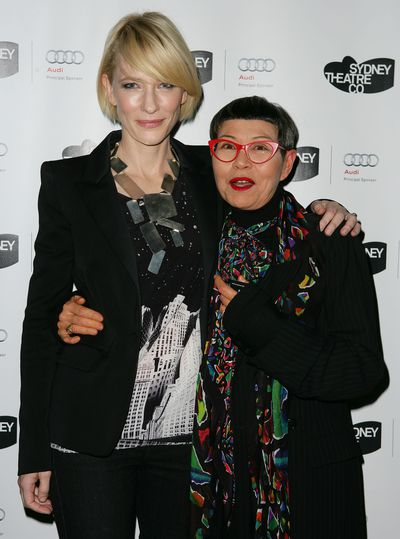 Jenny Kee with Cate Blanchett