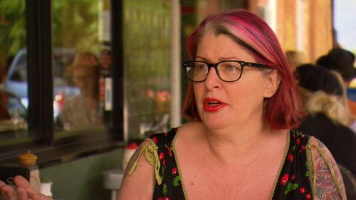 Cafe owner Caitlyn said she had severed ties with Uber Eats.