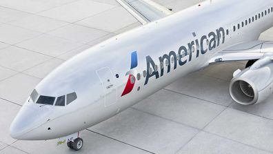 American Airlines Boeing 737 plane