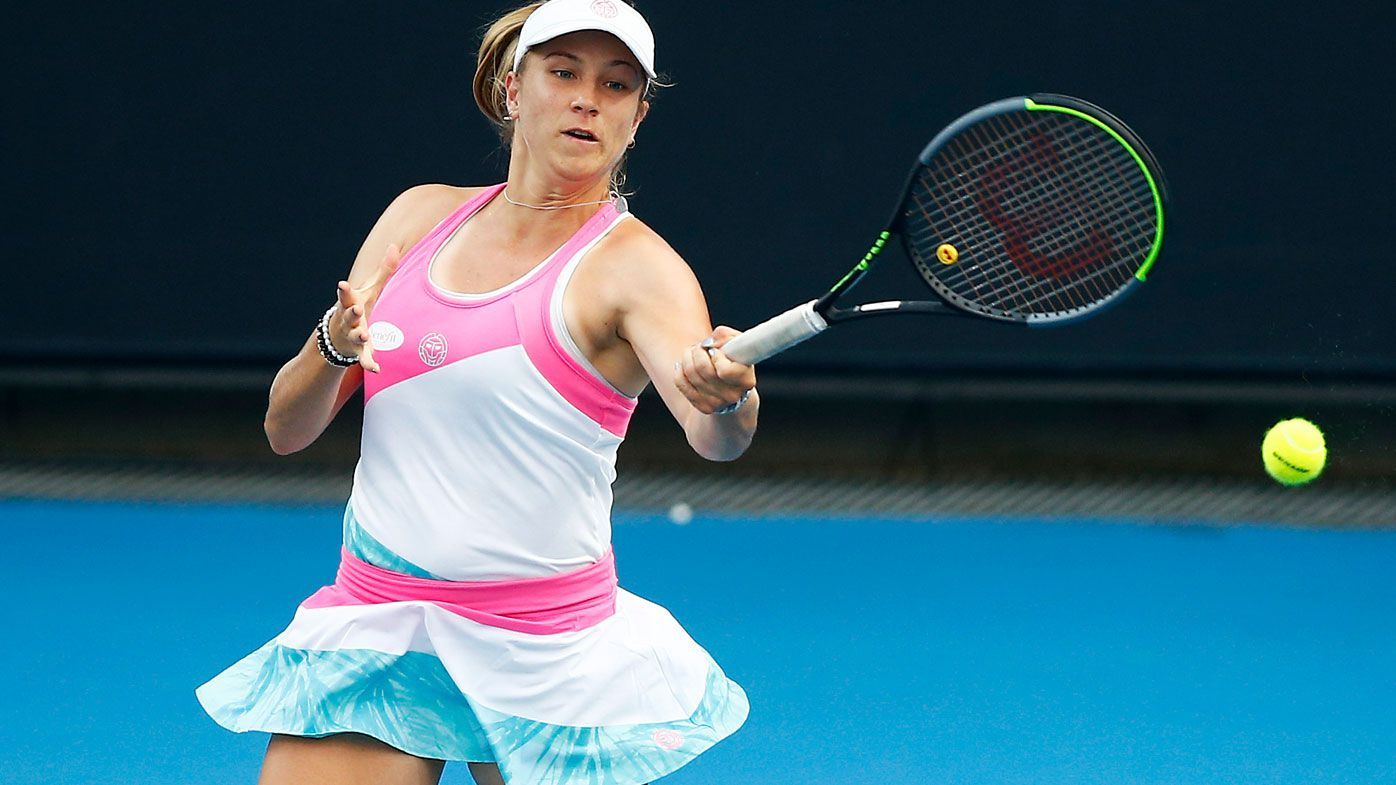 Australia's Ellen Perez. (Getty)