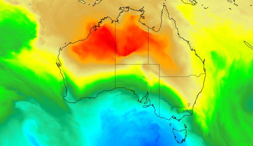 Australia is set for 24 hours of huge weather contrasts with both snow and 43-degree heat forecast.