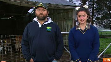 Victorian teen to march through Melbourne today in support of struggling dairy famers