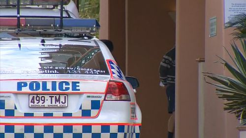 The man was shot inside a room at the Crown Towers hotel in Surfers Paradise. (9NEWS)