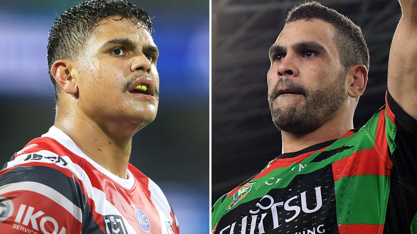 Latrell Mitchell and Greg Inglis