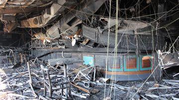 Photos reveal destruction after fire tore through beloved RSL