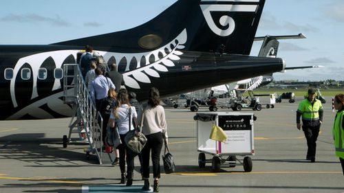 The passengers won't be able to board their intended flights with Air New Zealand refunding them what they paid for the far-too-cheap tickets. (AP)