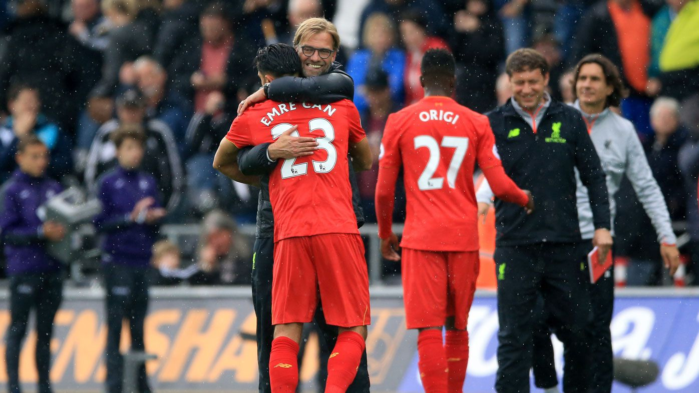 Late penalty lifts Reds to second