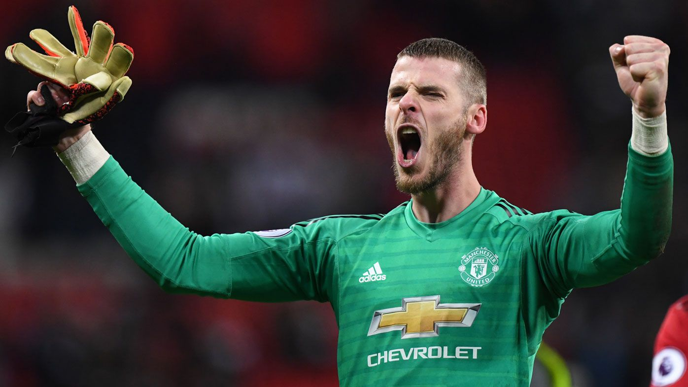 Manchester United goalkeeper David De Gea denies Spurs in EPL
