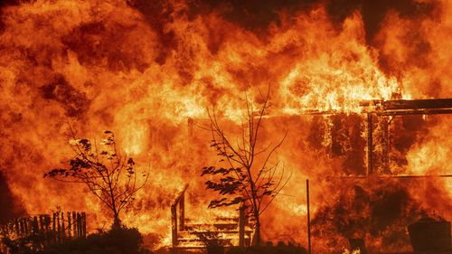 Firefighters are continuing to battle a Californian wildfire which has been declared the biggest ever recorded, in what could be the worst Californian fire season in history.