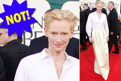 We get it, Tilda. You're weird.