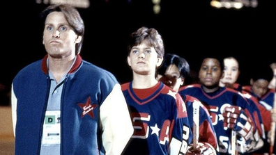 The first Might Ducks film was released in 1992.