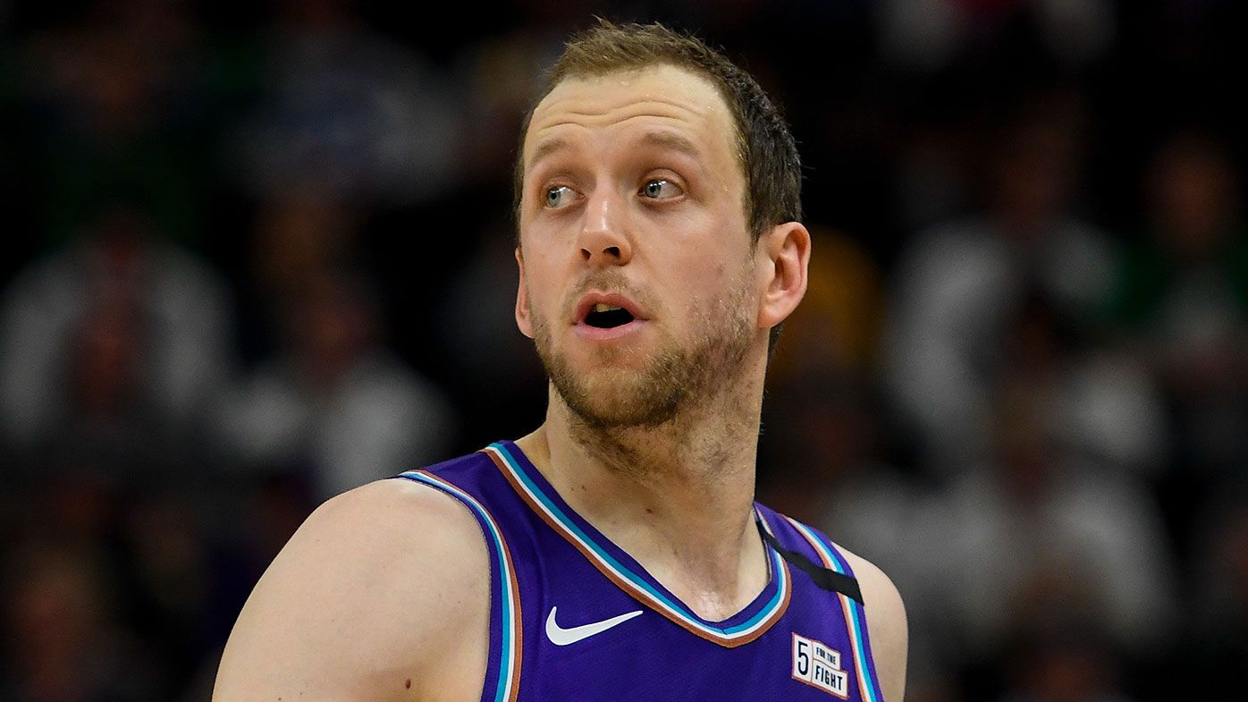 'Guys aren't going without their families': Joe Ingles discusses how bubble life could look next season