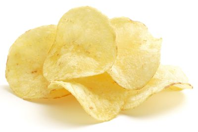 2. Potato chips (3.73) — equal second place