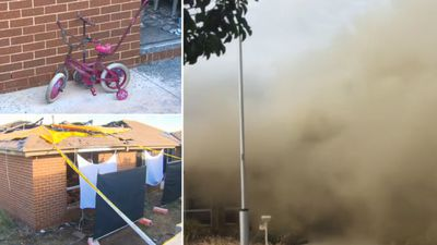 Mother and two young children killed in suspicious fire