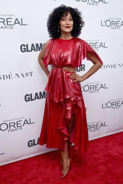 Tracee Ellis Ross in Prabal Gurungat the Glamour Women of the Year Awards, November 13.