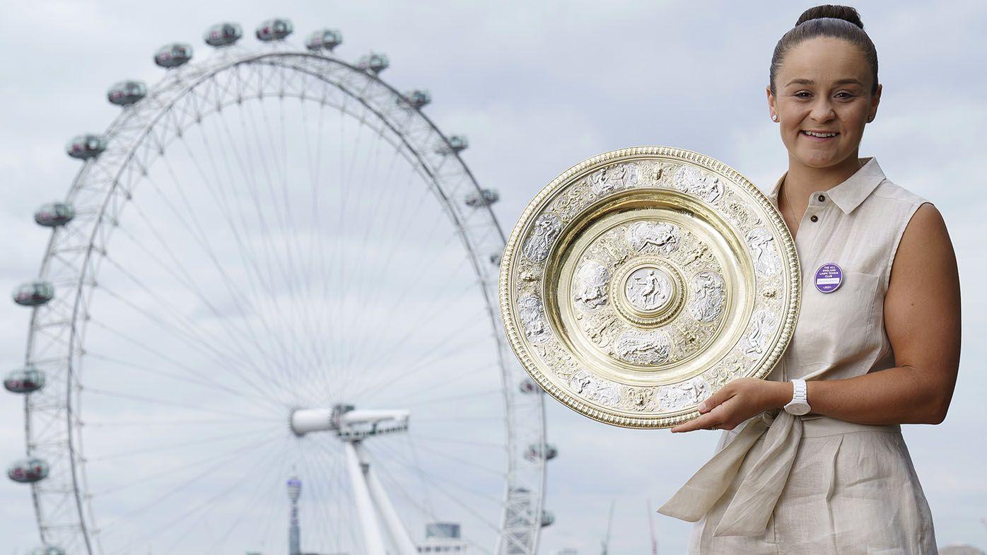 Peter Psaltis: I cried when Ash Barty won Wimbledon, a triumph of wonderful people