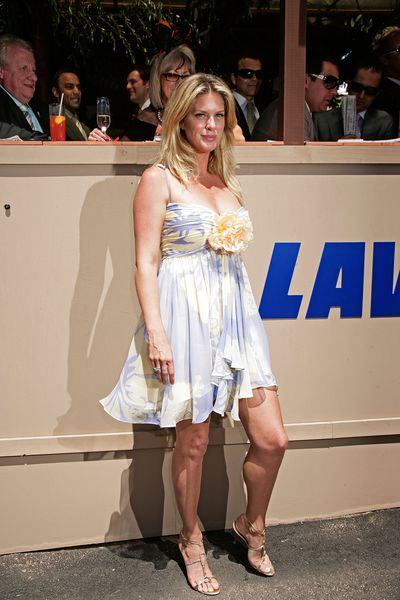 Former supermodel and Rod Stewart's ex Rachel Hunter.
