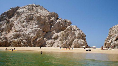 A beach in Los Cabos, Mexico. (AAP)