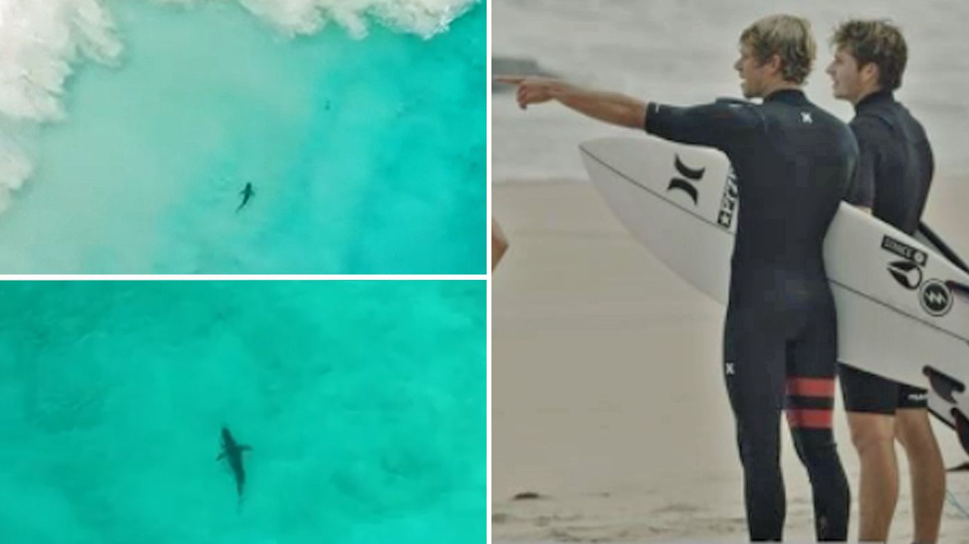 John John Florence shares footage of close encounter with shark before Margaret River Pro
