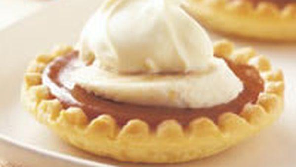 Banana caramel tarts