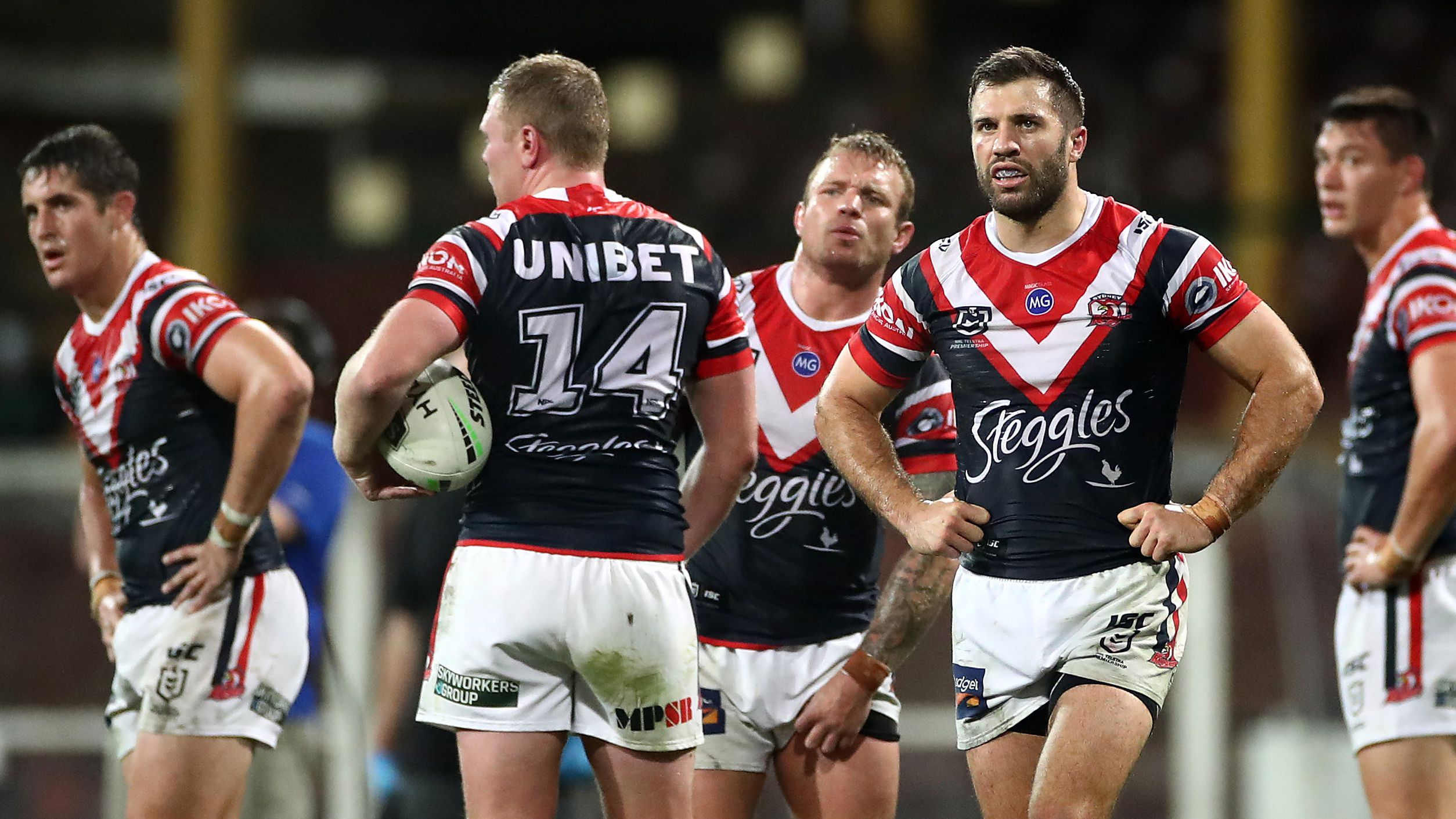 James Tedesco has a big job ahead for the Sydney Roosters.