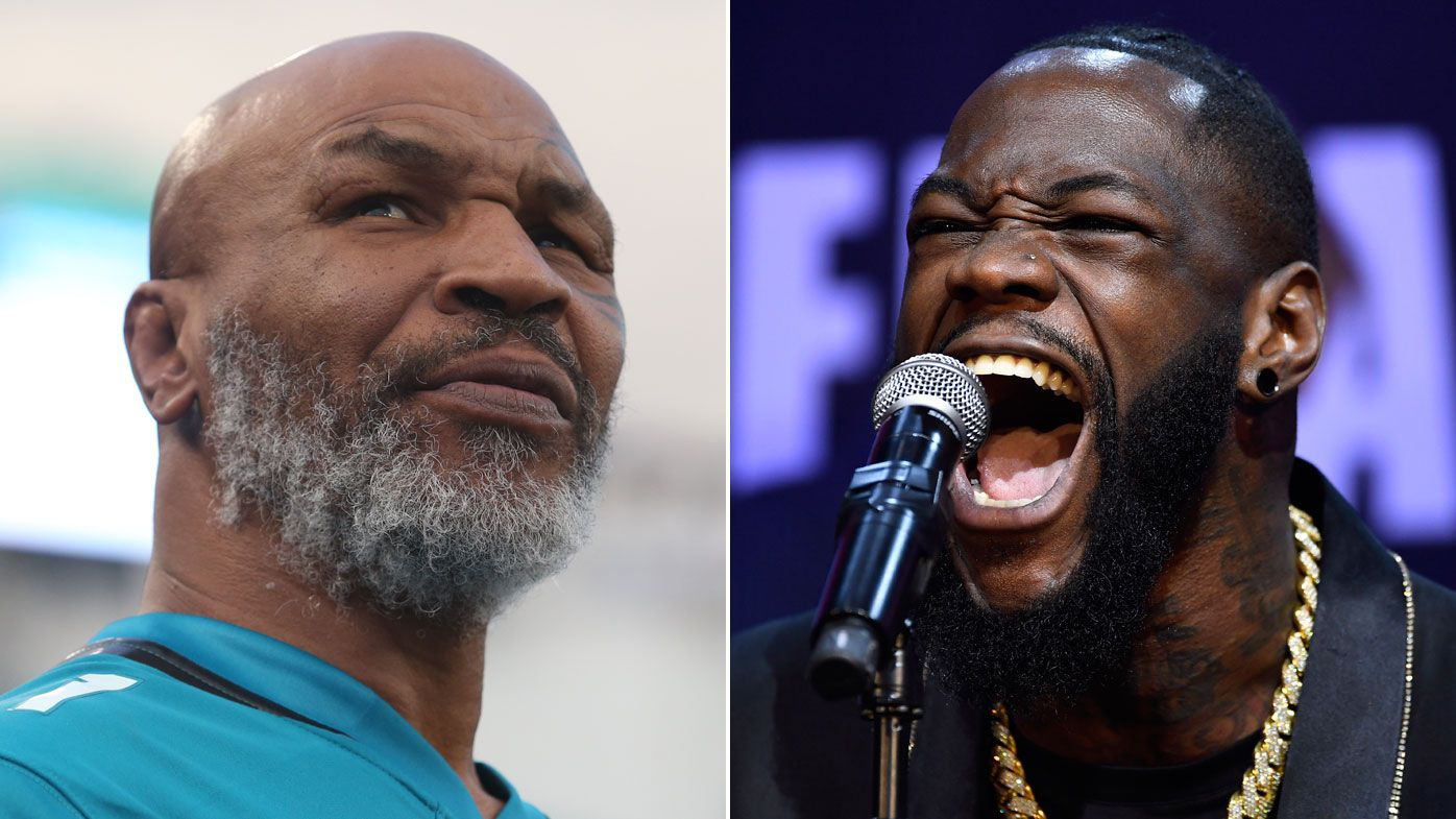 Mike Tyson tells Deontay Wilder to 'grow up' after losing WBC title to Tyson Fury