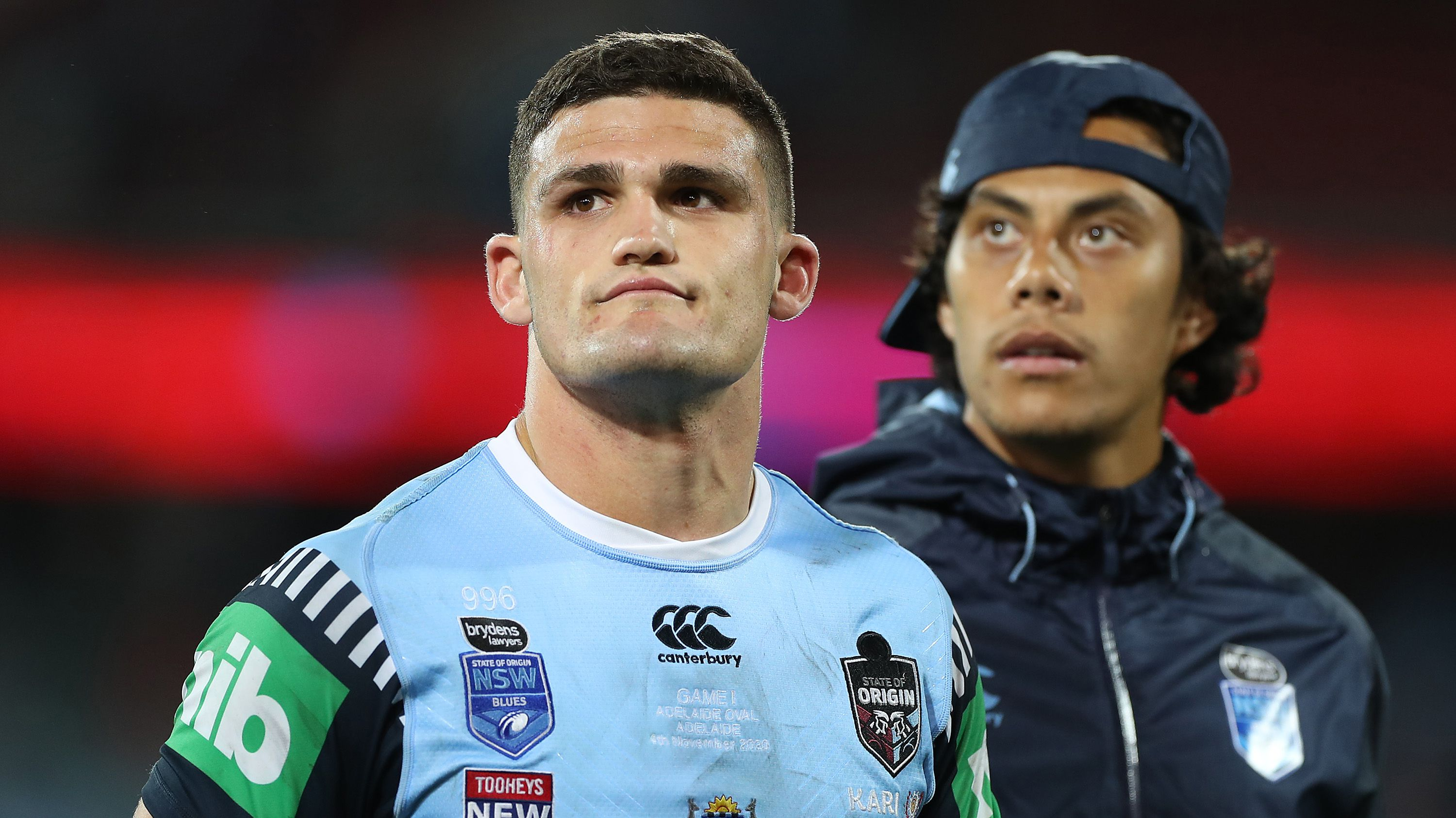 NSW halfback Nathan Cleary.