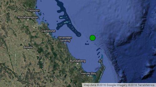 Quake detected off Queensland coast