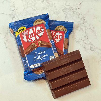 Nestlé unveils new KitKat with cookie fudge filling