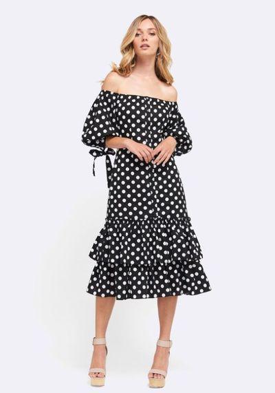 "<a href=""https://www.theiconic.com.au/the-havana-dress-606188.html"" target=""_blank"">MVN havana dress</a>, $139<br>"