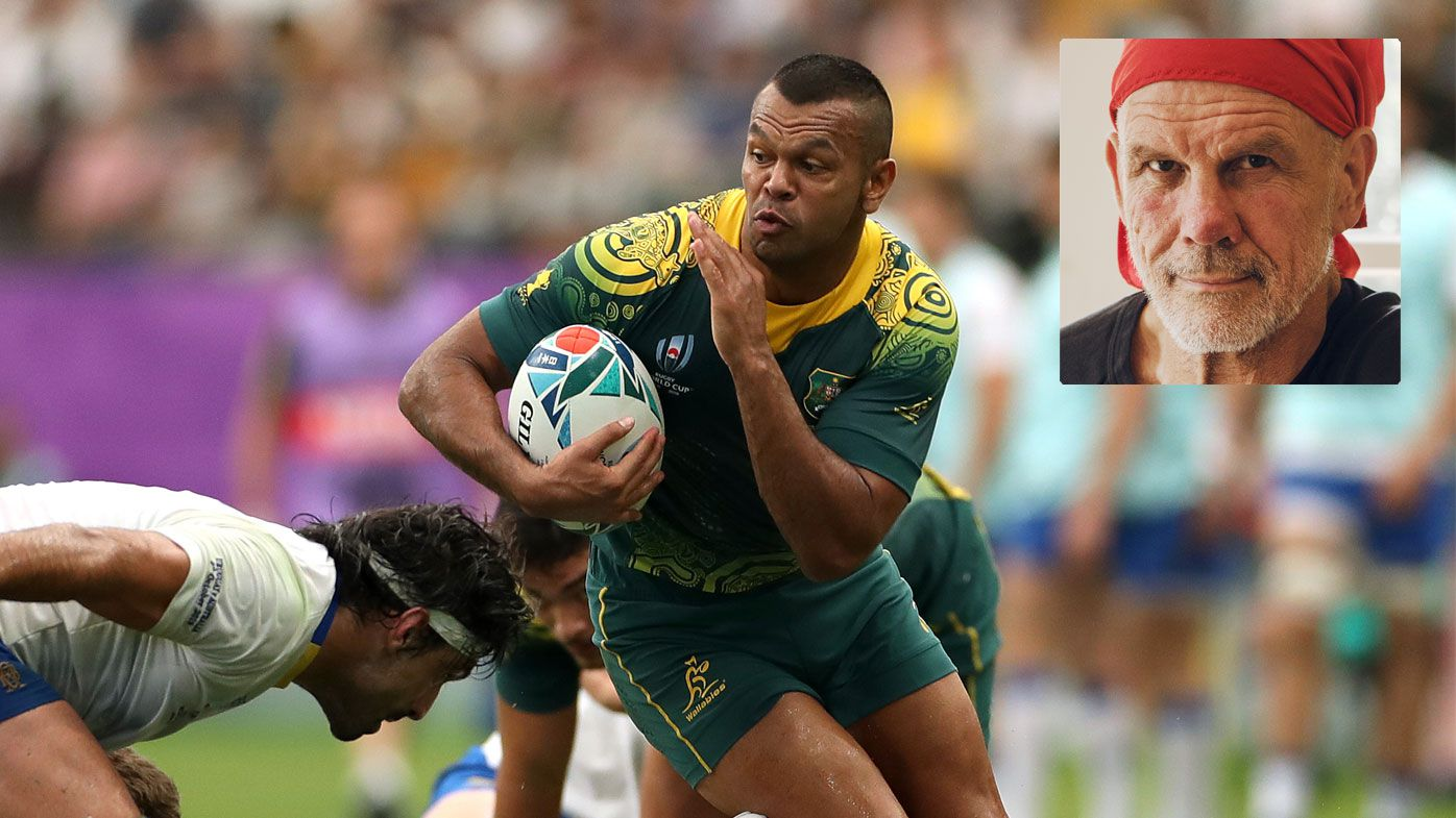 Kurtley Beale in action for the Wallabies against Uruguay at the 2019 Rugby World Cup.