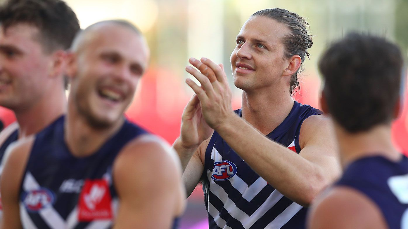 Kane Cornes questions Nat Fyfe's decision to surf a week after injuring hamstring