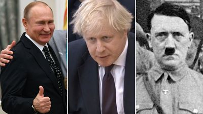 Russia hits back after Boris Johnson makes Hitler comparison