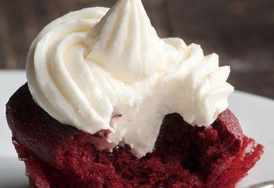 Kara conroy's velvety red cupcakes