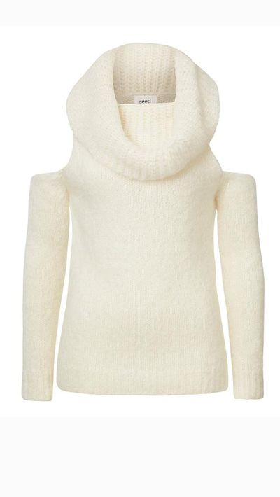 "<a _tmplitem=""3"" href=""http://www.seedheritage.com/knits-sweaters/cut-out-roll-neck-sweater/w1/i12476640_1001331/""> Cut Out Roll Neck Sweater, $149.95, Seed</a>"