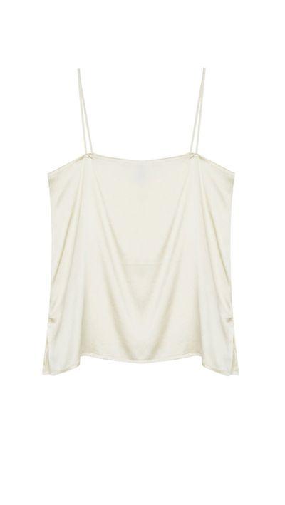 6. A silk camisole