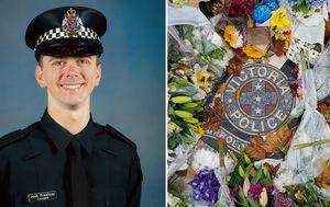 Constable Joshua Prestney farewelled at Melbourne funeral