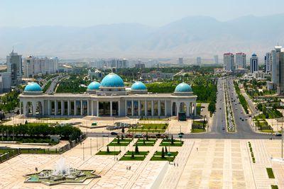 7. Ashgabat, Turkmenistan