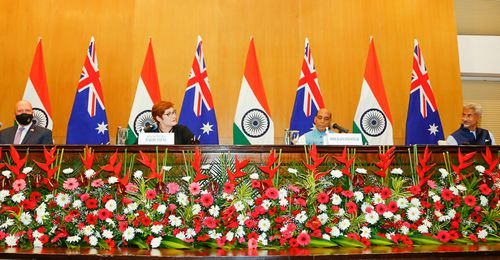 India and Australia have been closely co-operating through the 'Quad' and their upgraded Comprehensive Strategic Partnership.