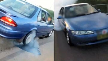 Hoons 'pouring oil on roads for burnouts'